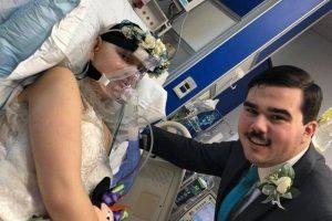 على سرير المرض...عروس تقيم زفافها قبل وفاتها بـ 3 أيام